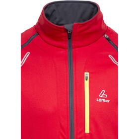 Löffler San Remo WS Light Zip-Off Softshell Jacke Herren rot